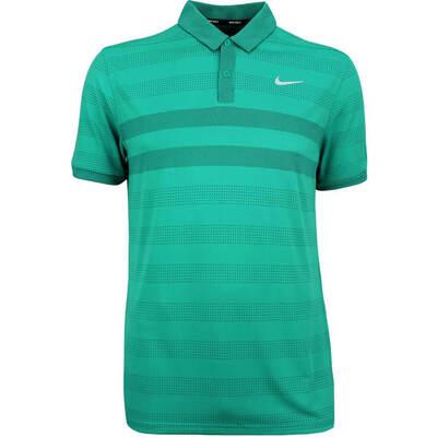 Nike Golf Shirt Zonal Cooling Polo Neptune Green AW18