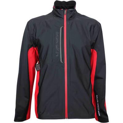 Galvin Green Waterproof Golf Jacket Al C Knit Black 2019
