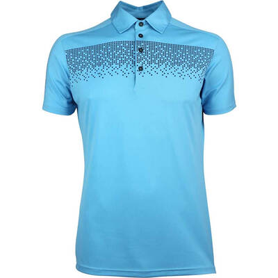 Galvin Green Golf Shirt Marcel River Blue AW18