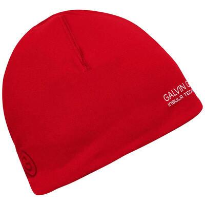 Galvin Green Golf Hat Duran Insula Beanie Red SS20