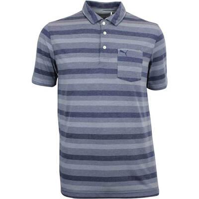 Puma Golf Shirt Local Pro FusionYarn Peacoat AW18