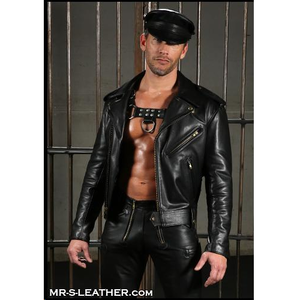 MR S DELUXE LEATHER JACKET / 43 - 44 / BLACK Preview