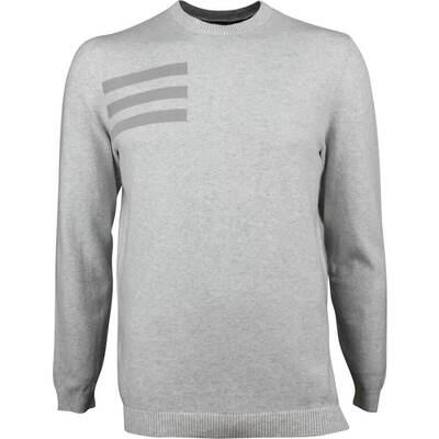 Adidas Golf Jumper Blend Crew Sweater Grey One AW18