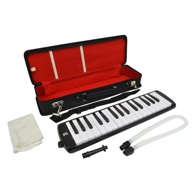 32 Key Melodica with Padded Carry Case Black