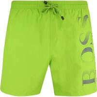 BOSS Swim Shorts Octopus Bright Green SP19