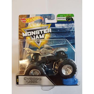 Hot Wheels Monster Jam   Cyborg Shark   Creatures 3//6