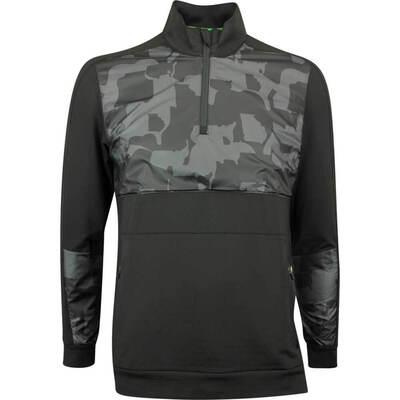 PUMA Golf Pullover Union Camo QZ Black SS19
