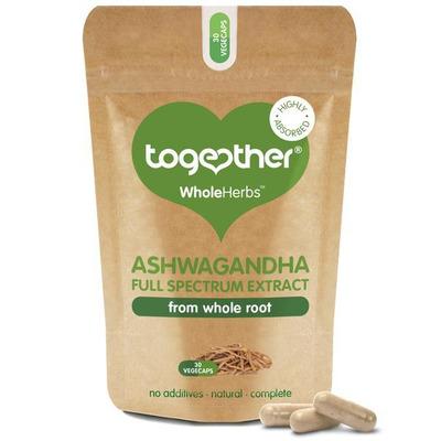 Together WholeHerbs Ashwagandha 30 Capsules