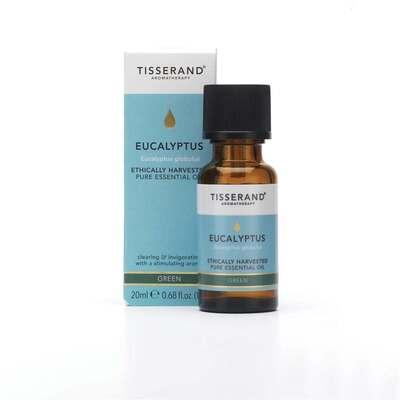 Tisserand Ethically Harvested Eucalyptus Essential Oil 20ml