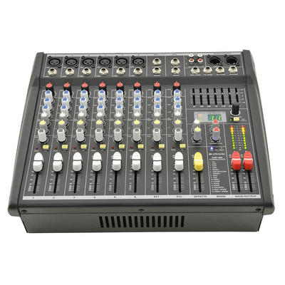 6 Channel Powered Mixer 2 x 200W