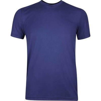 adidas Golf T Shirt Adicross Big Logo Tee Dark Blue AW19
