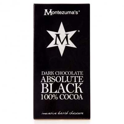 Montezumas Dark Chocolate Absolute Black 100% Cocoa 100g