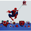 Spiderman, 68cm High Wall Sticker Set