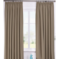 Ripon Thermal Blackout Curtains 66 x 72 - Coffee