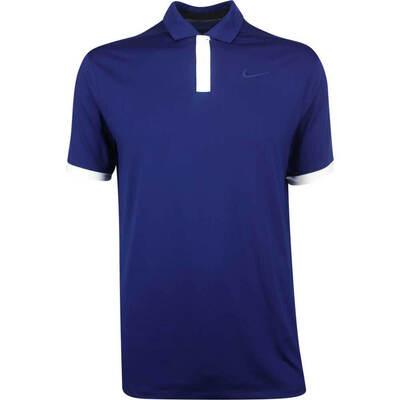 Nike Golf Shirt Vapor Solid Blue Void AW19