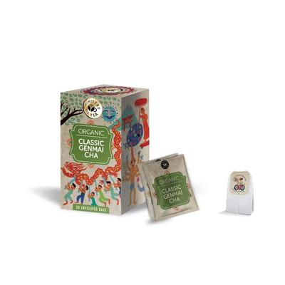 Ministry of Tea Organic Classic Genmai Chai Tea 20 Bags
