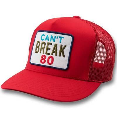 GFORE Golf Cap Cant Break 80 Trucker Scarlet SS19