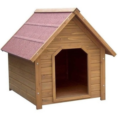 Lazy Bones Wooden Apex Dog Kennel