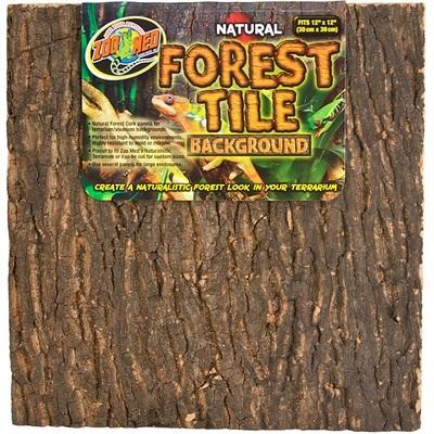 ZooMed Forest Tile Background