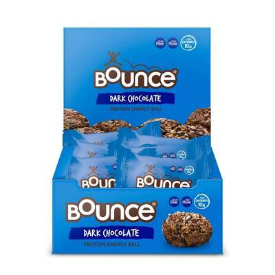 Bounce Dark Chocolate Protein Energy Balls - Pack of 12