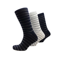 Jockey Casual Pinstripe Sock 3pk 308523