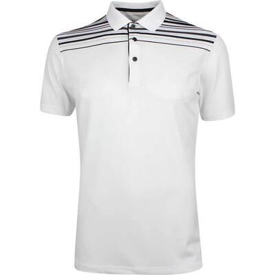 Galvin Green Golf Shirt Melwin White Black SS19