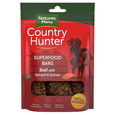 Natures Menu Beef with Spinach & Quinoa Superfood Bars