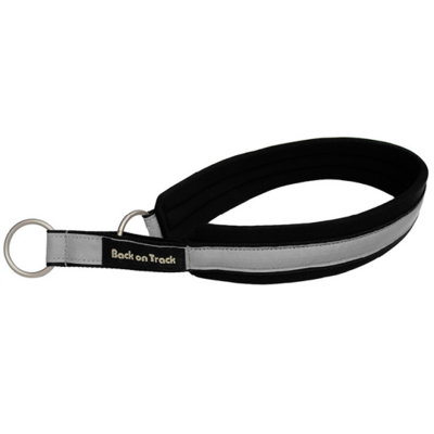 Back on Track® Canine / Dog Molly Collar - Black/Silver (20) 20cm - 25cm