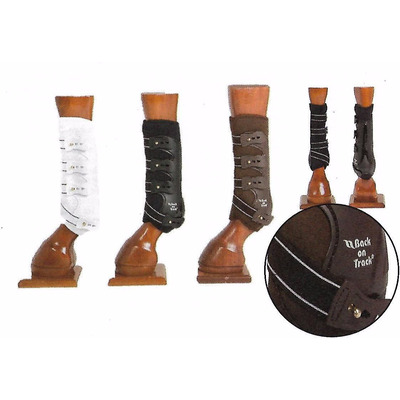 Back on Track® Equine / Horse Work Boots (Hind) - Medium Black