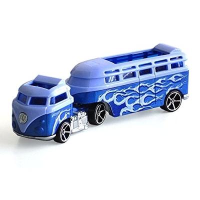 Hot Wheels Track Stars Custom Volkswagen Hauler Truck (blue)