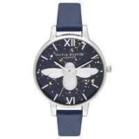 Celestial 3D Bee Demi Dial Watch - Midnight, Navy & Silver