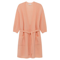 Vikiville Long Sleeve Cardigan - Sugar Almond