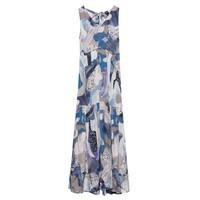 Jennifer Dress - Blue Marble