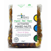 Activated Mixed Nuts Sweet & Spicy (Organic) 125g