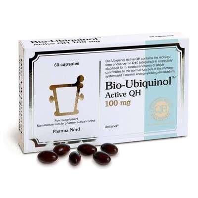 Pharma Nord Bio-Ubiquinol Active QH 100mg 60 Capsules