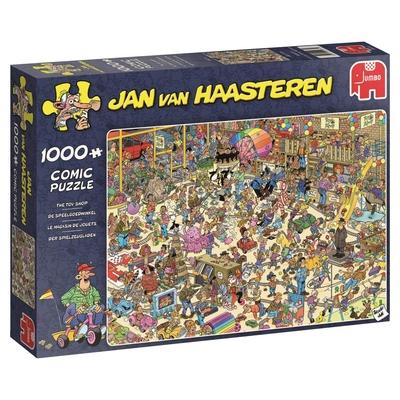 Jumbo 19073 Jan Van Haasteren   The Toy Shop 1000 Piece Jigsaw Puzzle