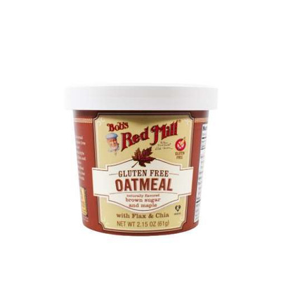 Bobs Red Mill Maple Brown Sugar Oatmeal Cup 61g