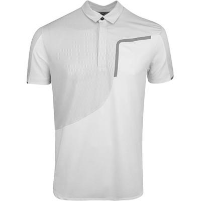 Galvin Green Golf Shirt Morty White AW19