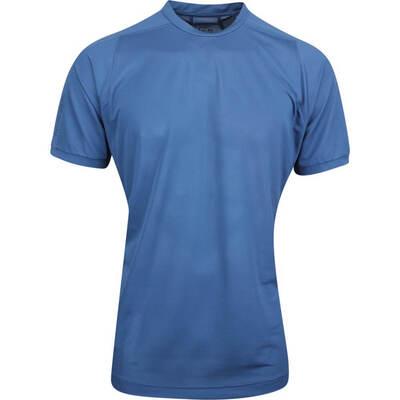Galvin Green Golf T Shirt Morrison Crew Faded Denim AW19