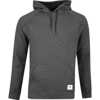 PUMA Golf Pullover Ivies Hoodie Black Heather AW19