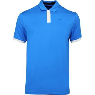 Nike Golf Shirt Vapor Solid Photo Blue AW19