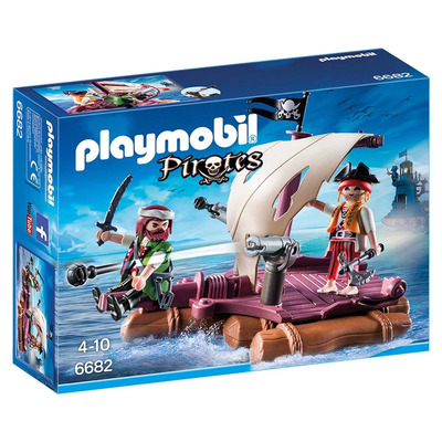 Playmobil Floating Pirate Raft
