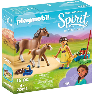 Playmobil DreamWorks Spirit Pru With Horse And Foal