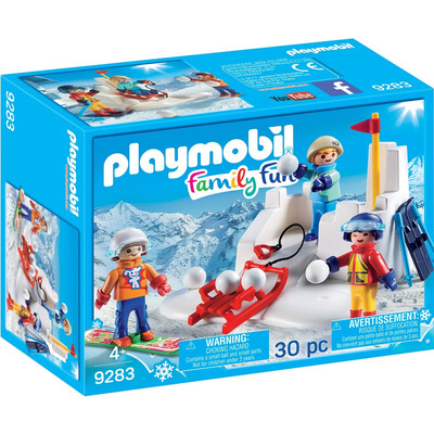 Playmobil Action Snowball Fight