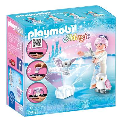 Playmobil Magic Playmogram 3D Ice Flower Princess