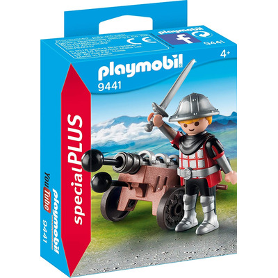 Playmobil Knight with Cannon