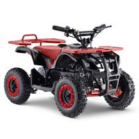 FunBikes Ranger 800w Red Kids Electric Mini Quad Bike V2