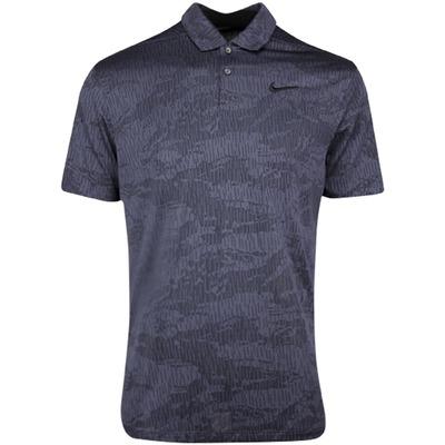 Nike Golf Shirt NK Dry Vapor Camo Jacquard Black SS20