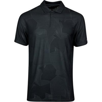 Nike Golf Shirt TW Dry Camo Jacquard Smoke Grey SS20