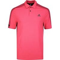 Image of adidas Golf Shirt - Sport Aero Ready Polo - Flash Red SS20